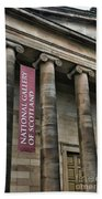 National Gallery Of Scotland  Beach Towel
