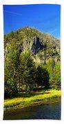 National Park Mountain Beach Towel