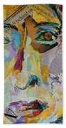Native American Reflection Beach Towel