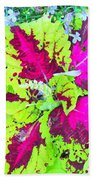 Natural Abstraction Beach Towel