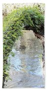 Natural Archway Over Hillsborough River Beach Towel