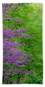 Natural Background Beach Towel