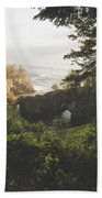 Natural Bridges Cove Beach Towel