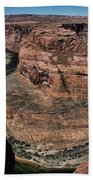 Natural Horseshoe Bend Arizona  Beach Towel