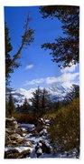 Naturally Framed Beach Towel by Chris Brannen