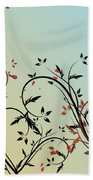Nature Branches Beach Towel