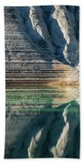 Nature Colorful Water Abstract Beach Towel