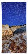 Nature Geometry Beach Towel