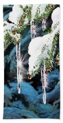 Nature's Decorations Beach Towel