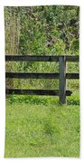 Natures Fence Beach Towel