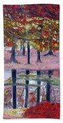 Natures Painting Beach Towel