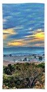 Nature's Playful Palette Beach Sheet