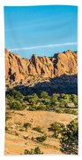 Navajo National Monument Canyons Beach Towel