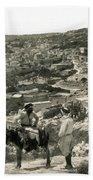Nazareth, Palestine, C1920 Beach Towel