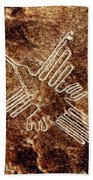 Nazca Hummingbird Beach Towel