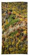 Nc Fall Foliage 0543 Beach Towel