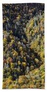 Nc Fall Foliage 0544 Beach Towel
