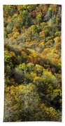 Nc Fall Foliage 0545 Beach Towel