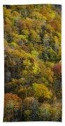 Nc Fall Foliage 0559 Beach Towel