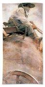 N.c. Wyeth: Ore Wagon Beach Towel