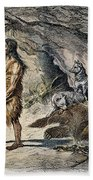 Neanderthal Man Beach Towel