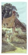 Near Witley Surrey Beach Towel by Helen Allingham