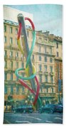 Needle And Thread Milan Italy Beach Towel