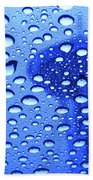 Needle In Rain Drops H006 Beach Towel