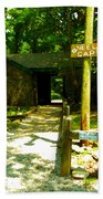 Neel Gap Appalachian Trail Beach Towel