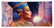 Nefertiti Variant 5 Beach Towel