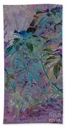 Negative Jungle Beach Towel