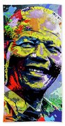 Nelson Mandela Madiba Beach Towel