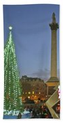 Nelson's Christmas Tree Beach Towel