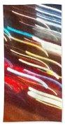 Neon 5a Beach Towel