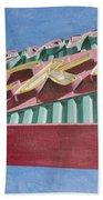 Neon Sign Cherry Cricket Beach Towel