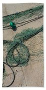 Neptune Green Beach Towel