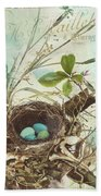 Nesting I Beach Towel