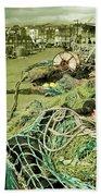 Nets N Ropes  Beach Towel