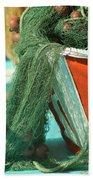 Nets Beach Towel