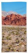 Nevada's Red Rocks Beach Towel