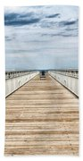 Never Ending Beach Pier Beach Towel