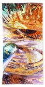 New Beginnings Abstract  Beach Towel