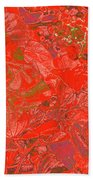 New Bloom Orchid 20 Beach Towel