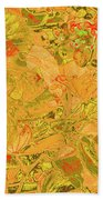 New Bloom Orchid 21 Beach Towel