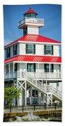 New Canal Lighthouse - Nola Beach Towel