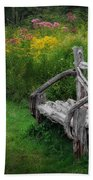 New England Summer Rustic Beach Towel