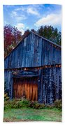 New Hampshire Barn Eaton Nh Beach Towel