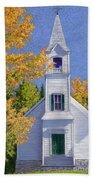 New Hampshire Church Beach Towel