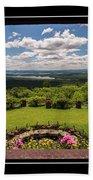 New Hampshire Lakes Region Beach Towel