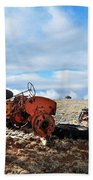 New Mexico Tractor Beach Towel
